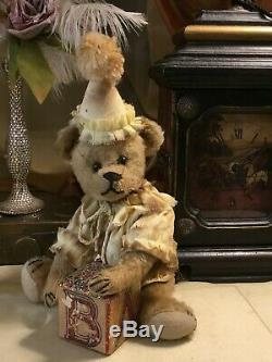 10 Antique American 1905-07 Early Ideal Teddy Bear Mohair, Straw, All Original