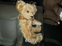 10 Antique Early Ideal Mohair Teddy Bear