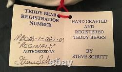 10 Artist MOHAIR SAILOR Bear by STEVE SCHUTT of BEAR-S-ENCE Hand Crafted