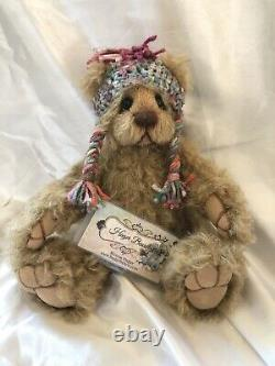 11 Brandie Artist Teddy Bear Curly Matted Mohair by Donna Hager OOAK 2013