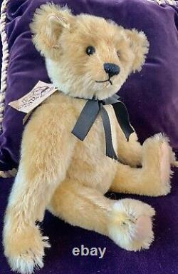 12 Mohair Artist Teddy Bear'Trevor' by Kathleen Wallace of Stier Bears OOAK