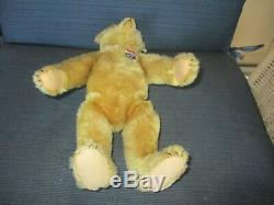 13 Antique Fully Jointed Mohair Steiff Teddy Bear
