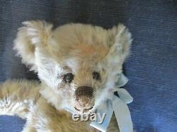 14 Antique Fully Jointed Steiff Mohair Teddy Bear