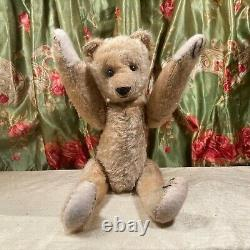 15ANTIQUE 1900s EARLY AMERICAN IDEAL TEDDY BEAR