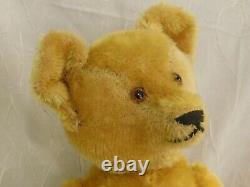 15ANTIQUE (1915-20s) IDEAL TEDDY BEAR EXCELLENT ORIGINAL CONDITION