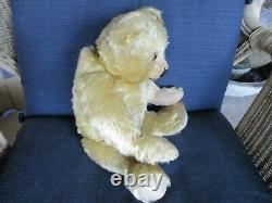 18 Antique Fully Jointed Mohair Teddy Bear, Ca. 1920s