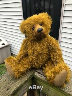 18 Artist Mohair Bear by Marjoleine Diemel of Old Time Teddys