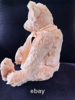 18 Mohair Artist Teddy Bear'Shalimar Rose' by Kathleen Wallace OOAK