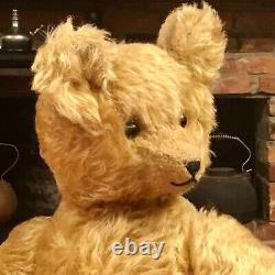 19 RARE EARLY 1920s ANTIQUE FRENCH TOY & NOVELTY CO. TEDDY BEAR