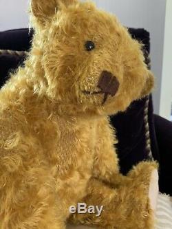 20 Mohair Artist Teddy Bear by Terry John Woods- See all 3 TJWs for SALE