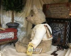 21 Ooak Teddy Bear Monroe1914 Series Prototype Deb Beardsley/beardsley Bears