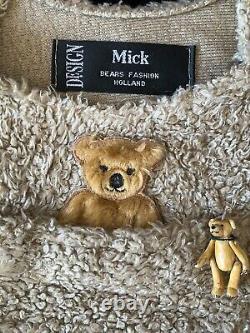 22 Mohair Artist Teddy Henri by Marjolein Vos of Mick Bears- Spectacular RHTF
