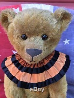 23 antique Ideal American mohair teddy bear