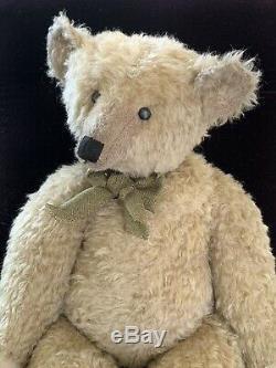 26 Mohair Artist Teddy Bear by Terry John Woods -'Mr. Grains c. 2013' OOAK