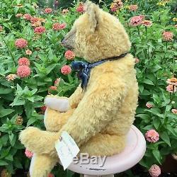 27 Mohair Artist Teddy Bear Rounder by Terry John Woods, Blackwoods, OOAK