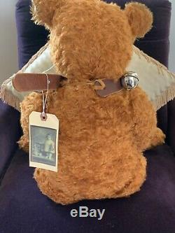 27 Mohair Artist Teddy Bear by Terry John Woods -'Tractor' of Blackwoods Design