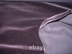 5 Yds Mohair Soft Teddy Bear Plush Aubergine Upholstery Fabric For Less