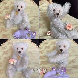 6 Mohair Artist Teddy Bear Lavender by Sharon Barron new 2019 OOAK