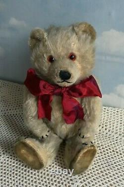 ANTIQUE CHILTERN RARE TING A LING TINGALING JOINTED MOHAIR TEDDY BEAR c1930s