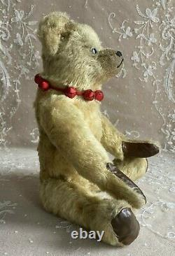 ANTIQUE FARNELL MOHAIR JOINTED TEDDY BEAR 1920s WINNIE THE POOH BOOKS INSPIRED