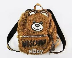 AW18 Moschino Couture Jeremy Scott Teddy Bear Ready 2 Bear Backpack
