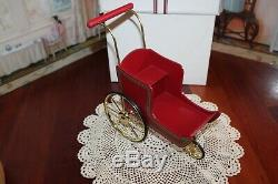 American Girl Doll Samantha RET PC Victorian Pram & Mohair Teddy Bear, NIB, RARE