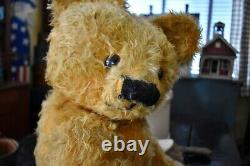 Antique 29 Chad Valley Large Mohair Teddy Bear