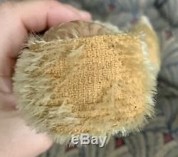 Antique Mohair Jointed Teddy Bear Doll Celluloid Face Schuco Steiff Bear NICE