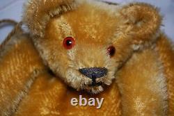 Antique Mohair Teddy Bear Hand Warmer Muff