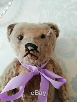 Antique Rare Early Long Limbs Mohair Jointed Teddy Bear Possibly Struntz