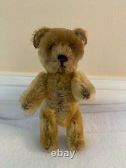 Antique Schuco German Perfume Teddy Bear 5 Mohair Plush 1920s