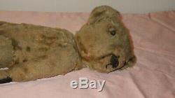 Antique Steiff or Schuco Teddy Bear Mohair 14 Fully Jointed Germany
