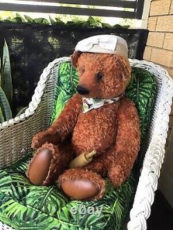 Antique Style Artist Mohair Teddy Bear 32 Beth Anne Martin USA Huge REDUCED