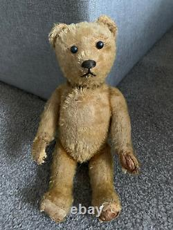 Antique Vintage Early German Schuco Mohair yes/no Teddy Bear 10 All Original