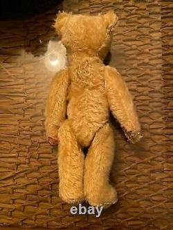 Antique teddy bear lush mohair 5 way jointed 1904- 08