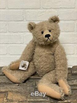 Apple Of My Eye Teddy Bear By Frances Harper 19 Mohair Oldetimer Rare