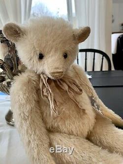 Artist Teddy Bear, Susanne Tauber, OOAK, Ernie Mohair/Beige, 2018, As New