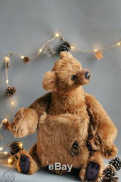 Artist teddy bear OOAK Teddy Bear by SeptemberBears