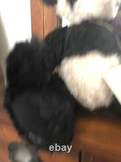 Barbara Horst Artist Mohair Panda Teddy Bear OOAK