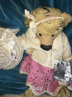 Bears Of grace Jo Vernalls Flossy Mohair Out Of The Attic Collection Teddy