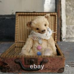 Big Teddy bear Confetti (16.54in.) 42 cm one of a kind artist teddy bear