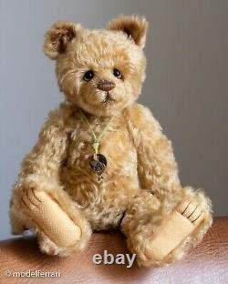 Charlie Bear PUDGY' Traditional style mohair teddy bear