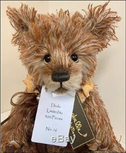 Charlie Bears 2018 DODO #16/300 Mohair 14 Teddy by Isabelle Lee NEW