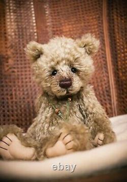 Charlie Bears Mohair MARCIA Retired 2009 Teddy Bear