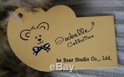 Charlie Bears Rare Bear Studio Isabelle Lee Angela Mohair Jointed Teddy Bear