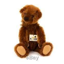 Charlie collectable mohair teddy bear by Kosen Annette Rauch 32cm 6650