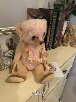 Charming Antique Style OOAK Handmade Mohair Teddy Bear By Vivianne Galli