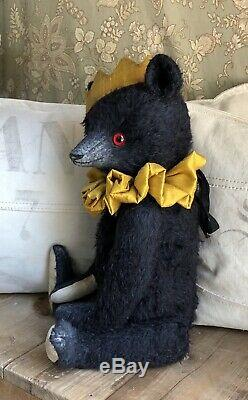 Charming Handmade Artist Teddy Bear Camillo By Nicole Stepien
