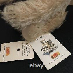 Classic Beige Mohair Steiff Teddy Bear with Certificate and Number