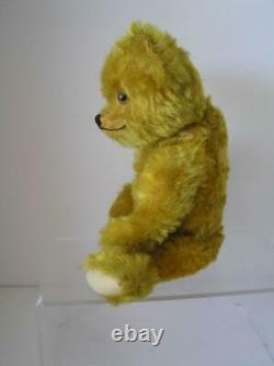 Early 1940's American Teddy Bear Gold Lush Mohair 15 tall jointed Charming